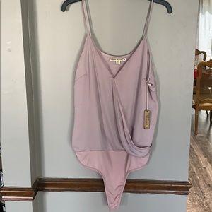 Lilac bodysuit